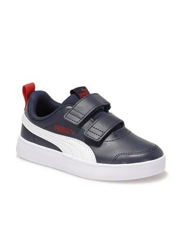Puma Çocuk Ayakkabı Courtflex V2 37154301 Lacivert